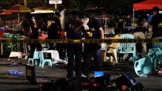 Market bomb attack kills 12 in Philippines' Davao