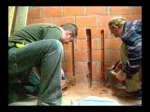 Gieten beton doovi for Goedkope trappenmaker