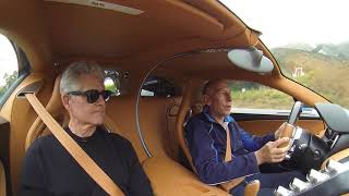 Test driving the Bugatti Chiron