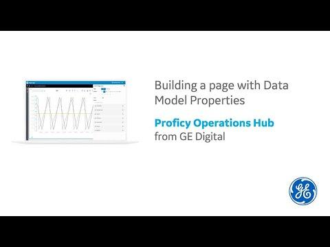 Proficy Operations Hub: Data Model Properties