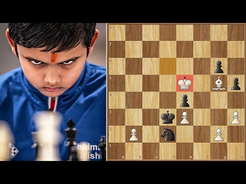 WE HAVE A NEW YOUNGEST CHESS GRANDMASTER!