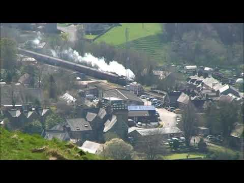 35018 on Great Britain X1 railtour  20/04/18