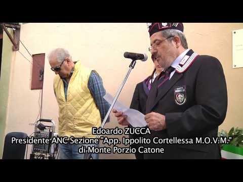 Associazione Nazionale Carabinieri Intitolazione Sezione di Monte Porzio Catone (RM)