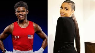 Floyd Mayweather's daughter gets into heated exchange with Shakur Stevenson