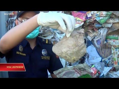 Indonesia định trả về Úc hàng trăm tấn rác (VOA)