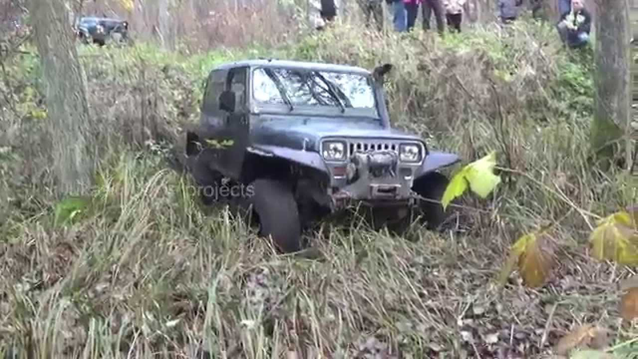 Jeep Wrangler Yj 4x4 Off Road Warn 8274 Grzechotnik Twin