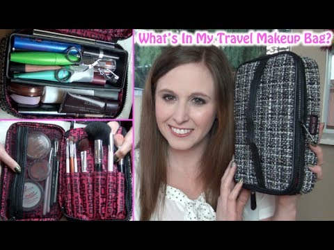 What's In My Travel Makeup Bag? Caribbean Cruise!