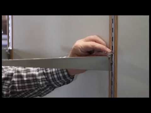 How To Install Glass Shelf - Waddell Case