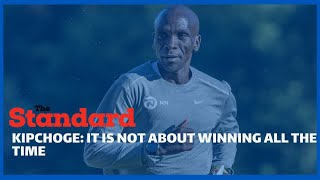 Eliud Kipchoge talks about his foundation as he assures Kenyans of his good health