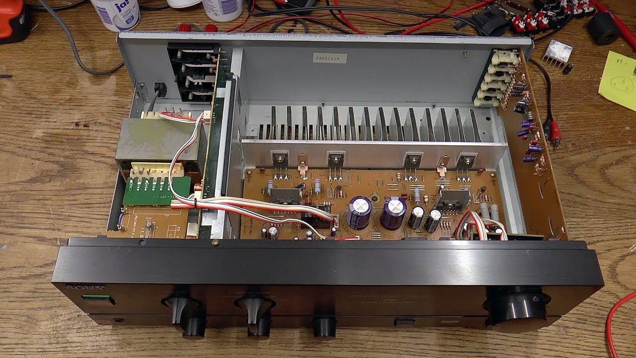 Sony TA-F110 Amplifier [1/2] - Diagnosis
