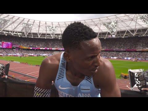 WCH 2017 London - Isaac Makwala BOT 400 Metres Heat 5