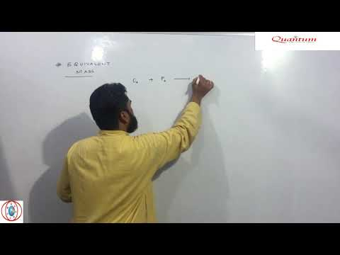Equivalent Mass||Concept of Equivalent Mass||Equivalent Weight||Class 11 Chemistry||Part-3