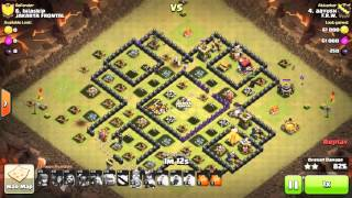 Clash of clans th9 war attack 3 stars GOWIPE CYANIDE BASE, MOST POPULAR BASE IN CLASH OF CLANS