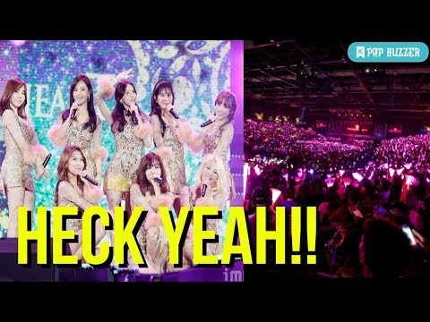 Girls' Generation Ranks 4th Worldwide In Girl Group Concert Sales