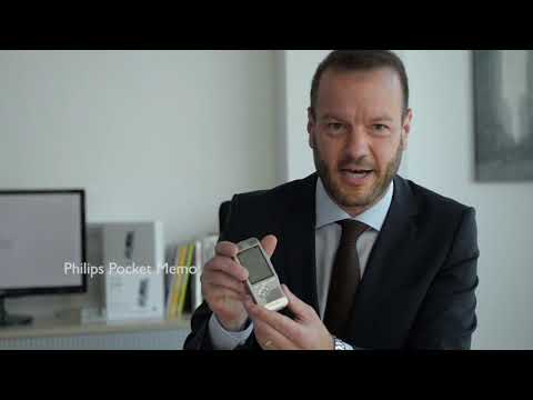 DPM8000 Philips Dictation With Speech Recognition Software Demonstration