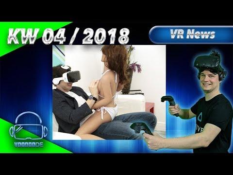 Virtual Reality News (Wochenrückblick KW04/18) [VR Games][VR Hardware][Vive][Rift][Pimax][WMR][PSVR]