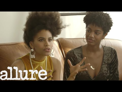 Zazie Beetz & Dascha Polanco Discuss How the World Sees Natural Hair