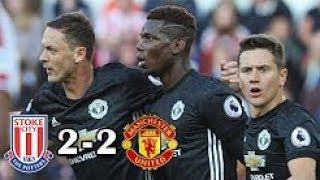 Download Video Stoke City vs Manchester United 2-2 Highlights & Goals -Premier League 09 Sep 2017 MP3 3GP MP4