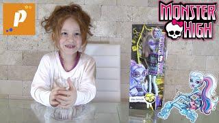 Распаковка обзор кукла монстер хай Эбби Боминейбл Unboxing monster high Abbey Bominable