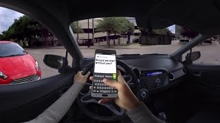NY State Police utilize 3D virtual reality simulator to warn of texting while driving