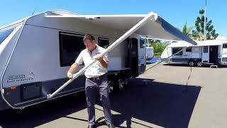How To Roll Out & Pack Up Your Roll Out Awning