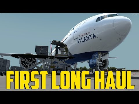 First Long Haul (777-200 P3Dv4)