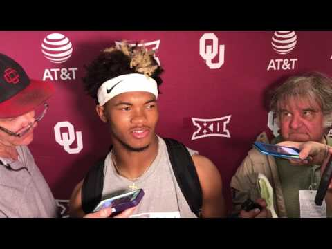 Kyler Murray speaks about strong Spring Game