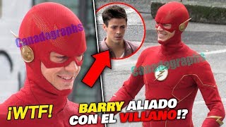 ¡DOS FLASH! ¿Qué está pasando? ⚡ The Flash 6x07 Filtraciones Gordas BARRY ALIADO del VILLANO?!