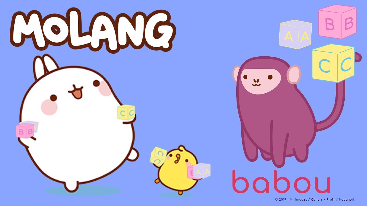 Learn Molang's ABC - B and M | More @Molang ⬇️ ⬇️ ⬇️
