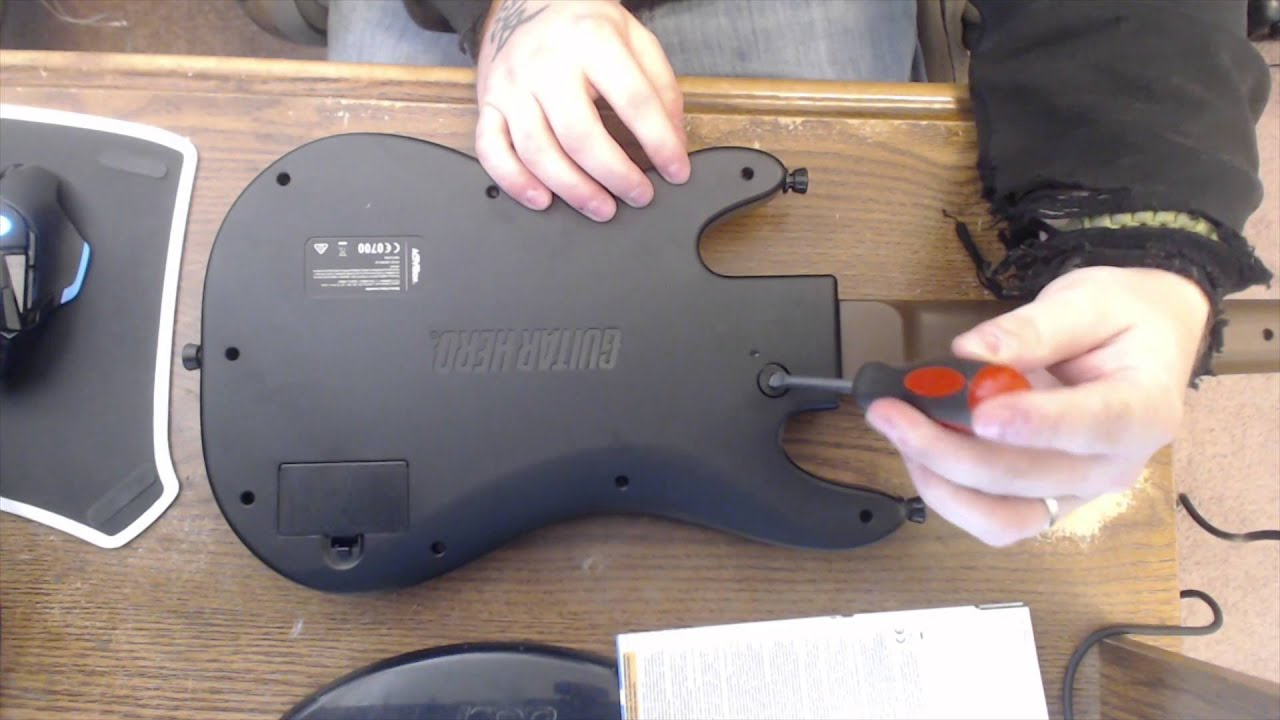 guitar hero live how to take the neck off of the guitar youtube rh youtube com guitar hero manual pdf manuel guitar hero wii