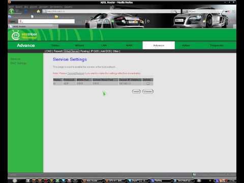 видео: Как открыть порт 27015 на модеме adsl.avi