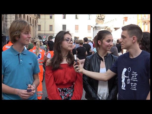 Icaro Tv. #telodicoio, l'happening dei giovani in piazza a Rimini