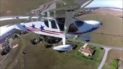 Landing in Sebring, Florida