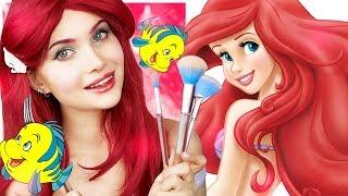 Повторяю макияж принцесс Диснея 👑 АРИЭЛЬ Русалочка | Лисса