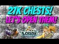 Opening 27k Chests for DkW Ruffian! - Lords Mobile