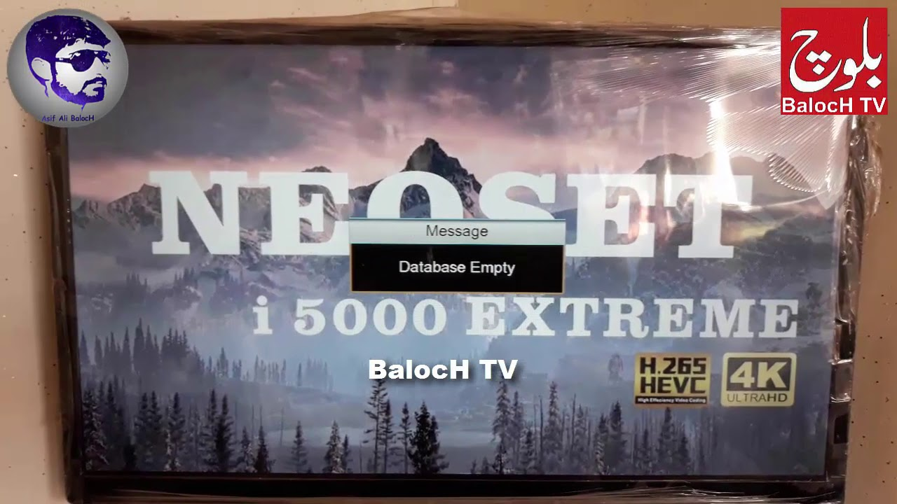 Neoset I5000 Extreme New Software Powervu ok 22/05/2018