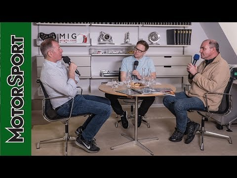 Martin Brundle podcast, in association with Mercedes-Benz