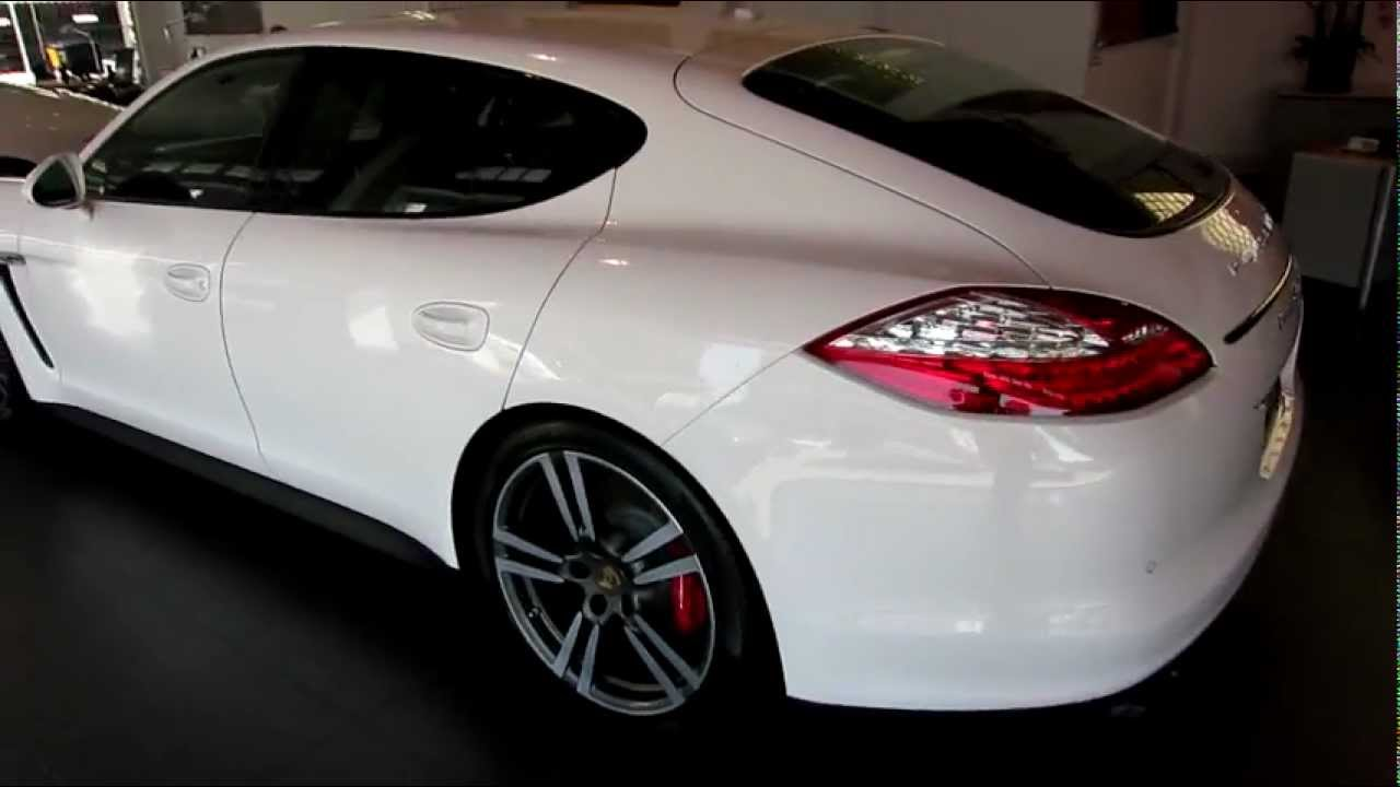 2013 porsche panamera gts carrara white now availablemov youtube