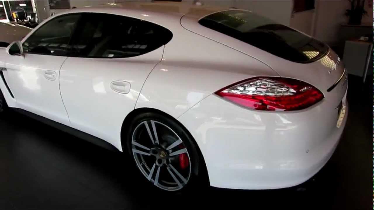 2013 porsche panamera gts carrara white now availablemov youtube - Porsche Panamera White Interior