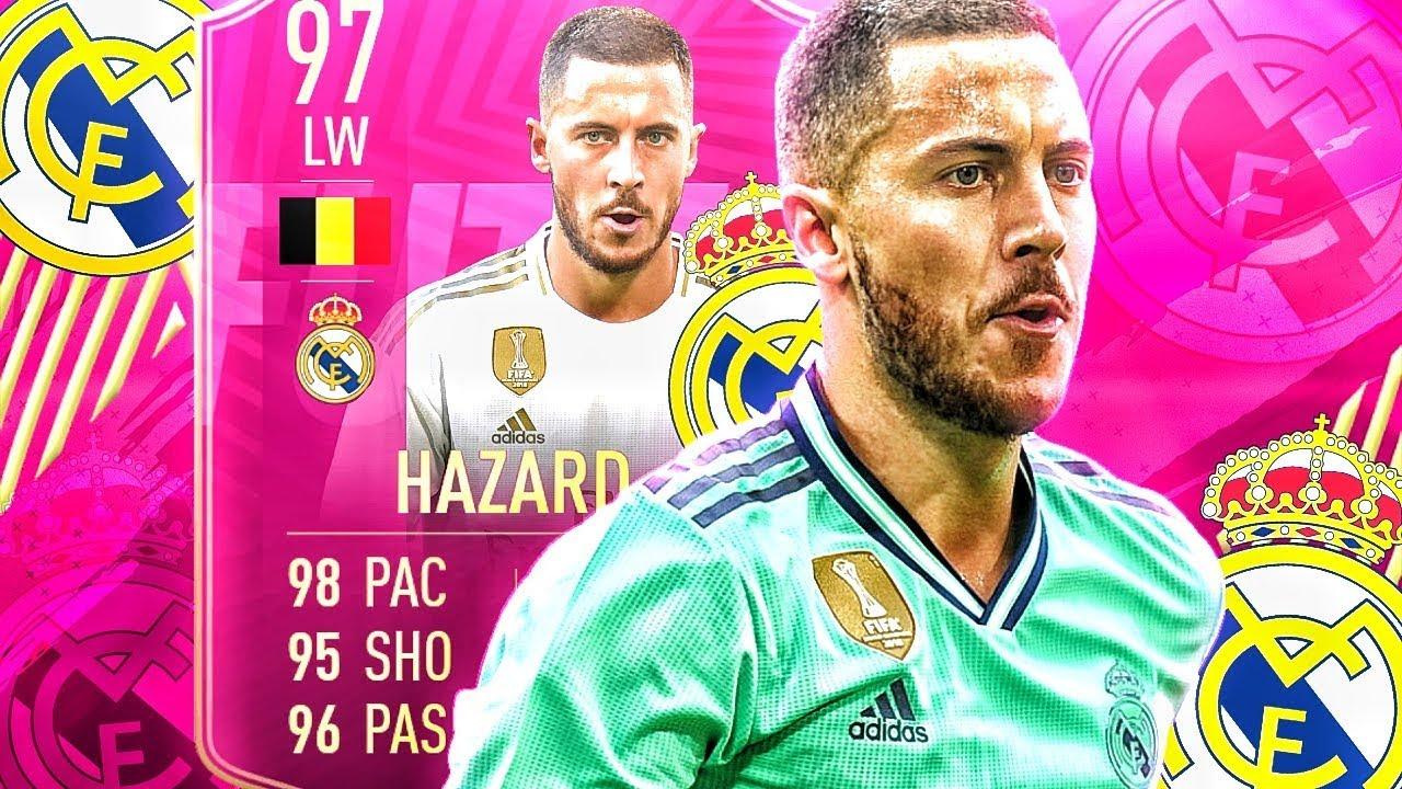FIFA 19 : HAZARD 97 REAL MADRID SQUAD BUILDER BATTLE 😱🔥 thumbnail