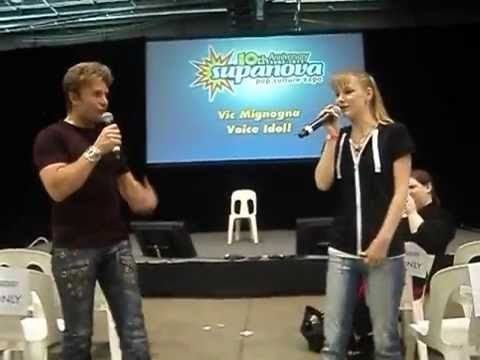 Brothers Duet  Me and Vic Mignogna Adelaide Supanova 2012