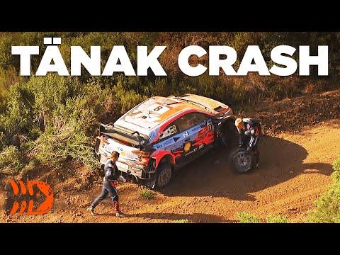 OTT TÄNAK CRASH - Rally Turkey 2020