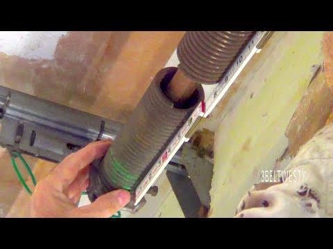Garage Door Torsion Spring Measure Repair Youtube