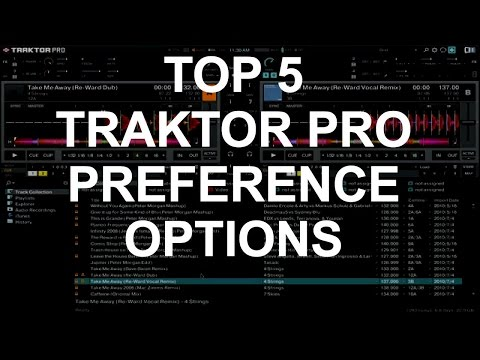 Traktor Pro - Top 5 Preference Options