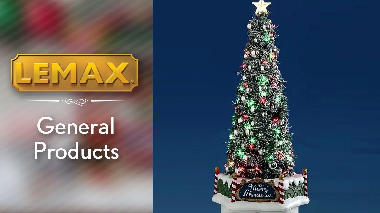 Majestic Christmas.Lemax New Majestic Christmas Tree Sku 84350