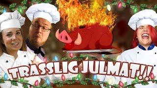 Trasslig Julmat!! - Overcooked Med Ufosxm & KomigenLena