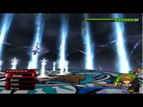 PCSX2- Kingdom Hearts II Final Mix (English Patched) Roxas Data Battle *Critical Mode* [1080p]