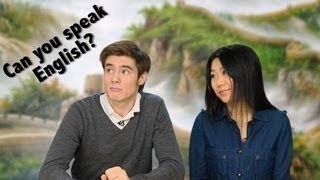 "How to Say ""Can you Speak English?"" in Chinese"