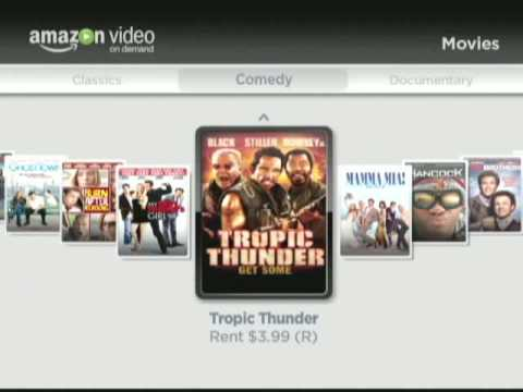 Amazon Video on Demand on Roku Video Player