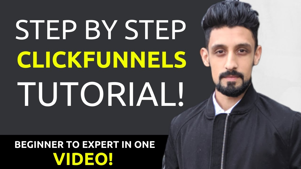 Clickfunnels Tutorial For Beginners (Full 2018)